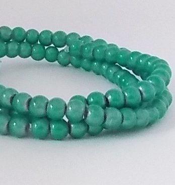 perles magiques 4mm aqua