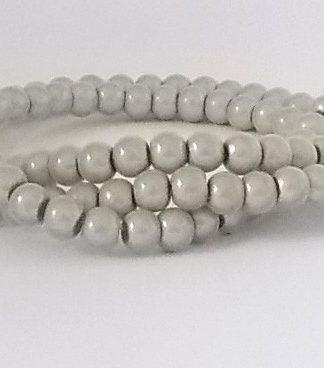 perles magiques 4mm blanc