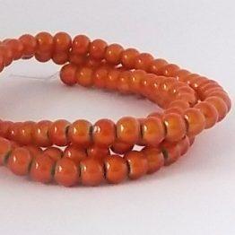 perles magiques 4mm orange