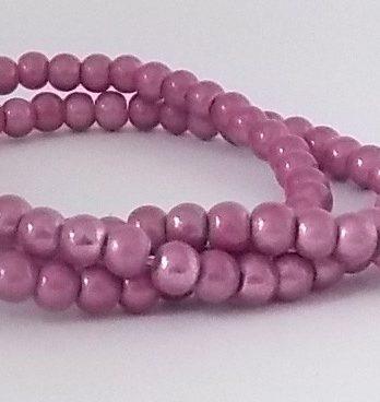 perles magiques 4mm light amethyste