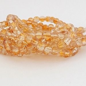 perles craquelées topaz crystal