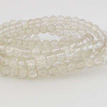 perles craquelées crystal