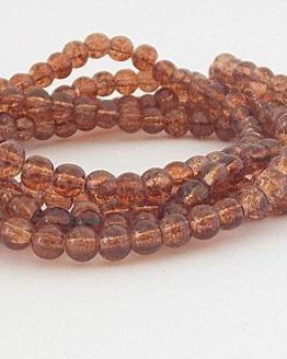 perles craquelées dark topaz