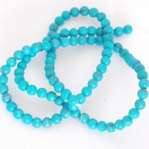 perles naturelles turquoise