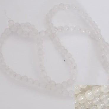 perles gemmes white jade