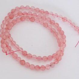 perles gemmes watermelon quartz