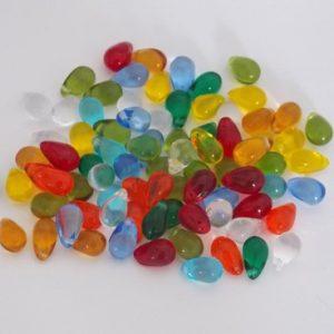 assortiment de perles gouttes