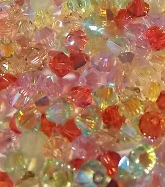 perles toupies Swarovski 4mm