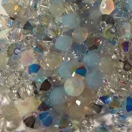 MIX perles toupies Swarovski