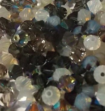 assortiment de perles Swarovski