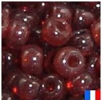 perles de rocaille rouge rubis
