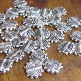 perles en métal ethnique