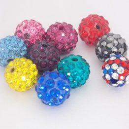 lot perles shamballa