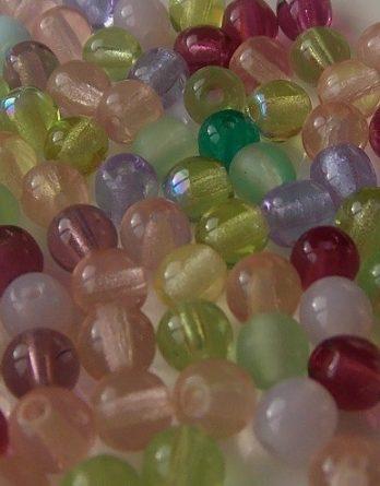 mix perles rondes verre