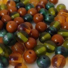 perles rondes verre 6mm