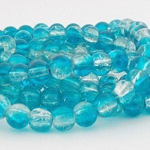 perles craquelées 6mm