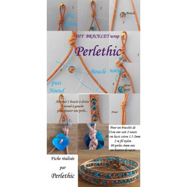 tutoriel bracelet wrap