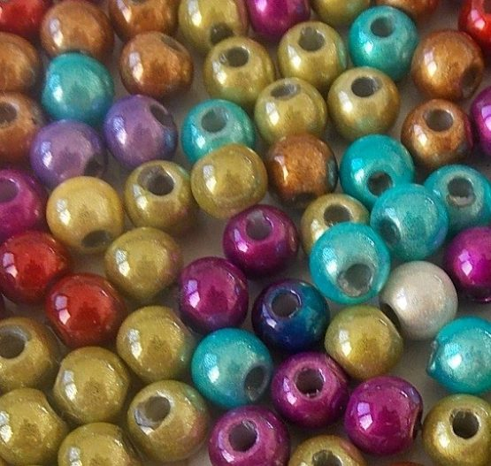 assortiment de perles magiques