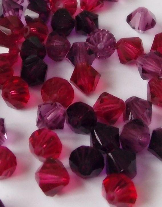 perles toupies en cristal