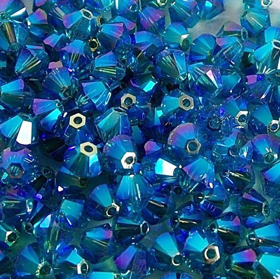 perles toupies Swarovski