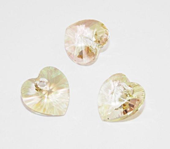 perles coeurs Swarovski