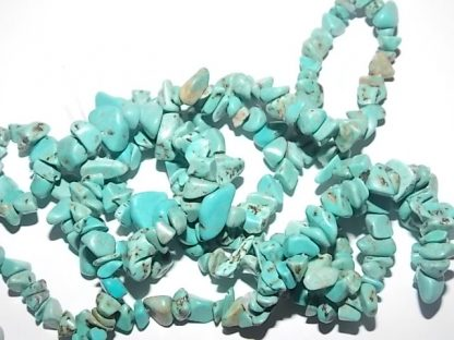 chips turquoise