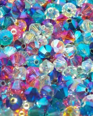 perles toupies 4mm Swarovski