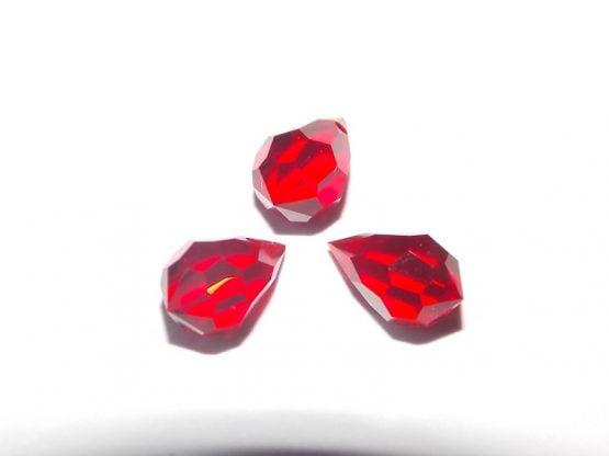 perles gouttes en cristal