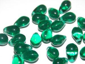 perles gouttes verre
