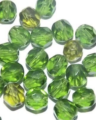 perles à facettes 6mm