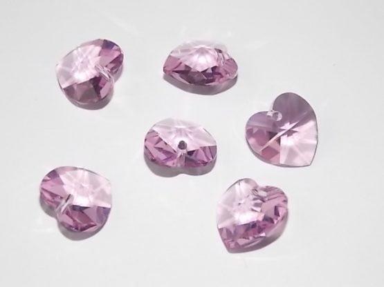 pendentif coeur cristal Swarovski