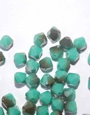 perles toupies aplaties