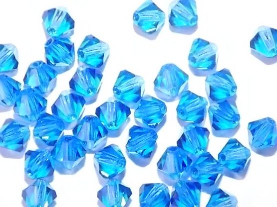perles toupies cristal 5mm