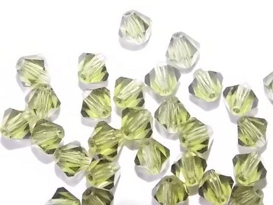 perles toupies cristal 5mm