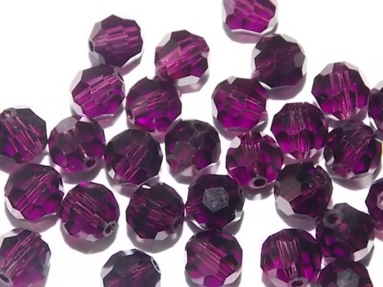 perles rondes cristal 6mm