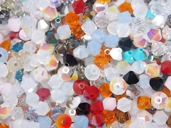 mélange de perles Swarovski
