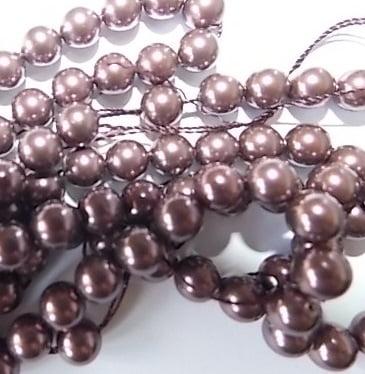 perles nacrées Swarovski 6mm
